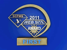 1st Place SCFMS Website 2011