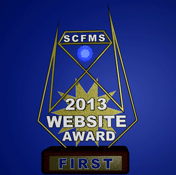 1st Place SCFMS Website 2013